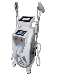YAG Laser With IPL Opt And RF Three In One Laser