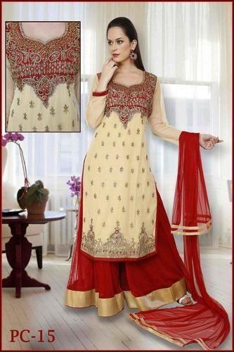 6961027dd5 Designer Indian Palazzo Suits, Plazzo Suit, प्लाज़ो सूट ...