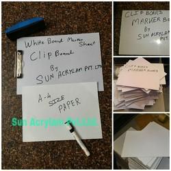 White Board Marker Sheet