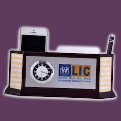Brown Wooden Desktop Accessories, For Promotional Gifts