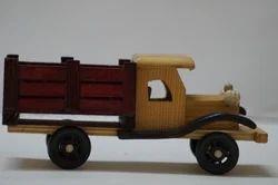 Wooden Vintage Truck Toy