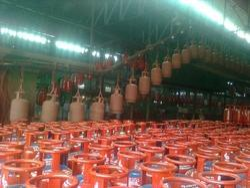 Cylinder Overhead Conveyor