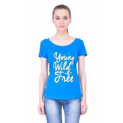 0b482b5d Women Half Sleeve T Shirt at Rs 449 /piece | Ladies T-shirts | ID ...