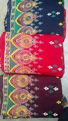 Cotton Gujari Napthol Kurti Fabric