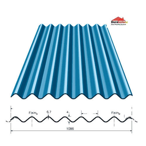Roofing Sheet - Color Coated Galvalume Roofing Sheet