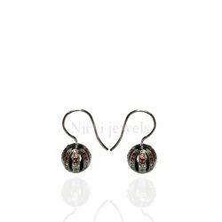 Multi Sapphire Earring