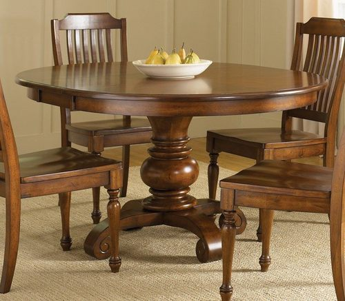Round Wooden Dining Table At Rs 15000