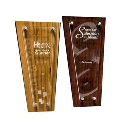 Engraved Wooden Award