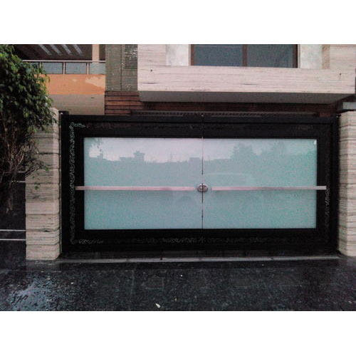 Designer Glass Main Gate At Rs 4800 Square Feet Glass Doors Id