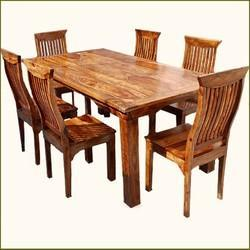 wooden dining table suppliers, manufacturers & dealers in noida