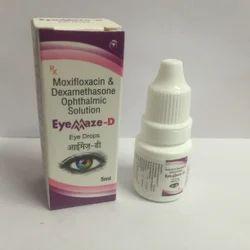 Moxyfloxacin And Dextamethasone Opthalmic Eye Drops