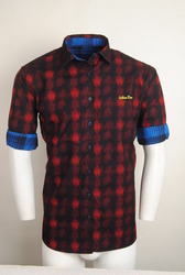 Trendy Red Reversible Shirt