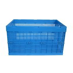 Blue Milk Crates, Capacity: 30 Litres