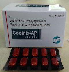 Levocetirizine Phenylephrine Hcl And Ambroxol Hcl Tablet