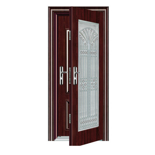 Safety And Security Doors Double Steel Safety Door