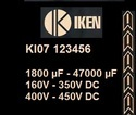 KI07 Type : Compact Aluminium Electrolytic Capacitors