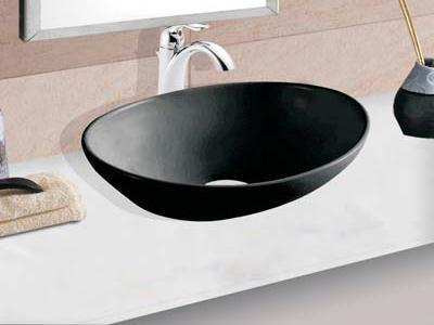 Black Table Top Wash Basin Ashok Enterprises Manufacturer In