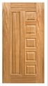 Stylish Veneer Door