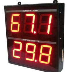 Jumbo Display Temperature & Humidity Indicator