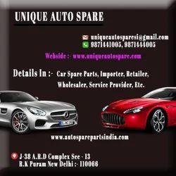 Mild Steel Car Spare Parts