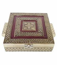 Antique Imitation Look Wooden Handmade Dry Fruit Gift Box
