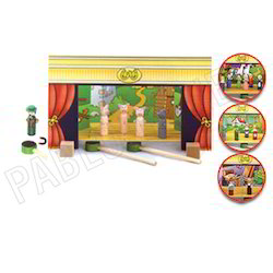 Magnetic Theater Stage - Kids Toy