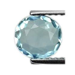 Oval Shape Aquamarine Stone