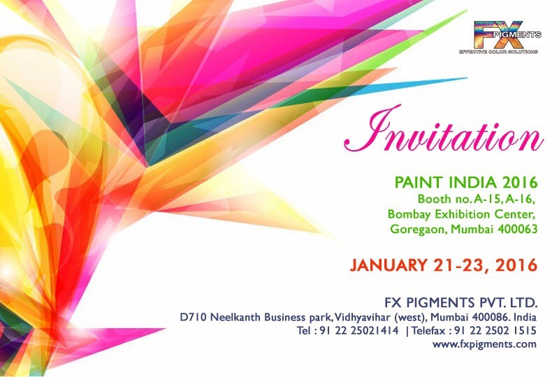 FX Pigments Pvt. Ltd.