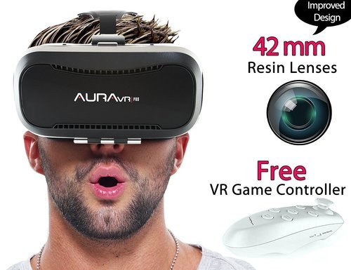 Aura Vr Pro Vr Headset/virtual Reality Gear With Remote