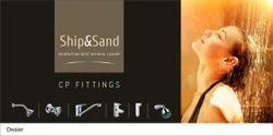 Ship&Sand Brass C.P. fittings Bathroom Fittings