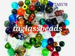 Mix Plain Big Size Glass Beads