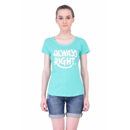 73f52073 Women Half Sleeve T Shirt at Rs 449 /piece | Female T-Shirts, Ladies ...