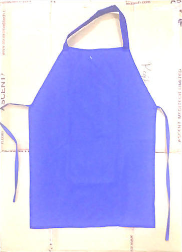 Blue Cotton Kids Apron, for Gardening