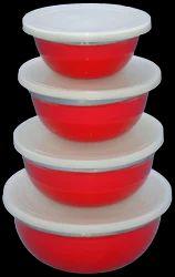 Colored Storage Bowl Set