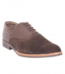 Limerence Brown Smart Casuals Shoes