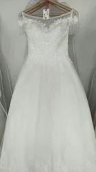 Medium Large White And Ivory Christian Bridal Dresses