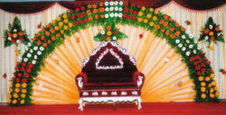 Marriage Stage Flower Decorations Service