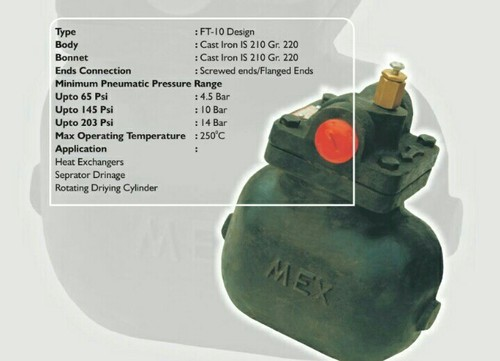 Float Type Steam Trap With Ball