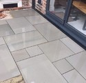Grey Sandstone Flooring Tiles