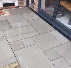 Grey Sandstone Flooring Tiles