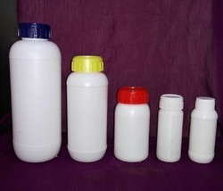 Lupin Wide Mouth HDPE Bottle with MC, Inner Plug & IS Caps
