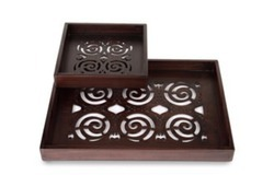 Spiral Tray Set of Two