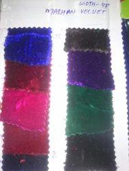 Velvet Makhan Fabric