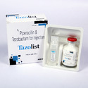 Tazolist-4.5gm Piperacillin & Tazobactum Injection, Vial With Plate