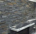Slate Stone Wall Stacking, Thickness: 10-15 Mm