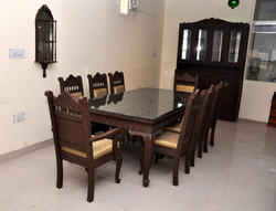 Wooden Carving Dining Table