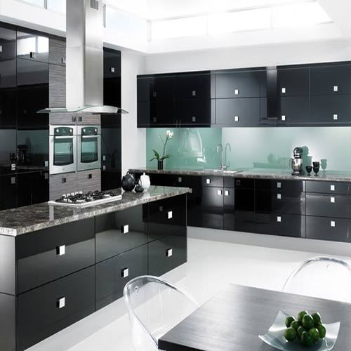 High Gloss Kitchen Cabinet At Rs 900 /sqft