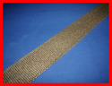 Ceramic Vermiculite Coated Webbing Tape