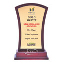 Wooden Economy Trophy