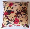 Indian Patch Work Velvet Cushion Cover